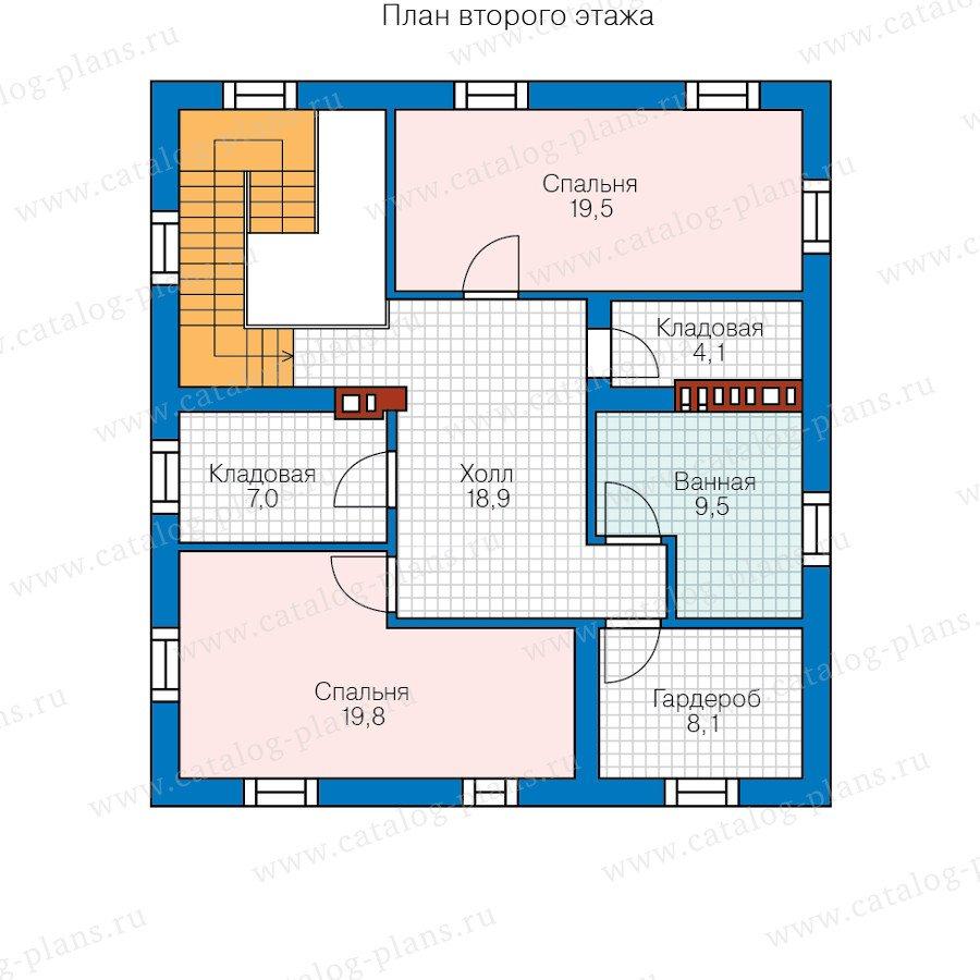 План 2-этажа проекта 57-23B