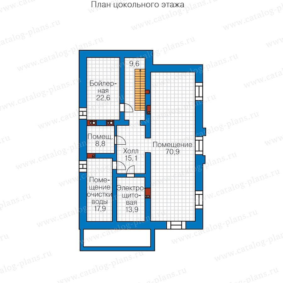 План 1-этажа проекта 40-30C