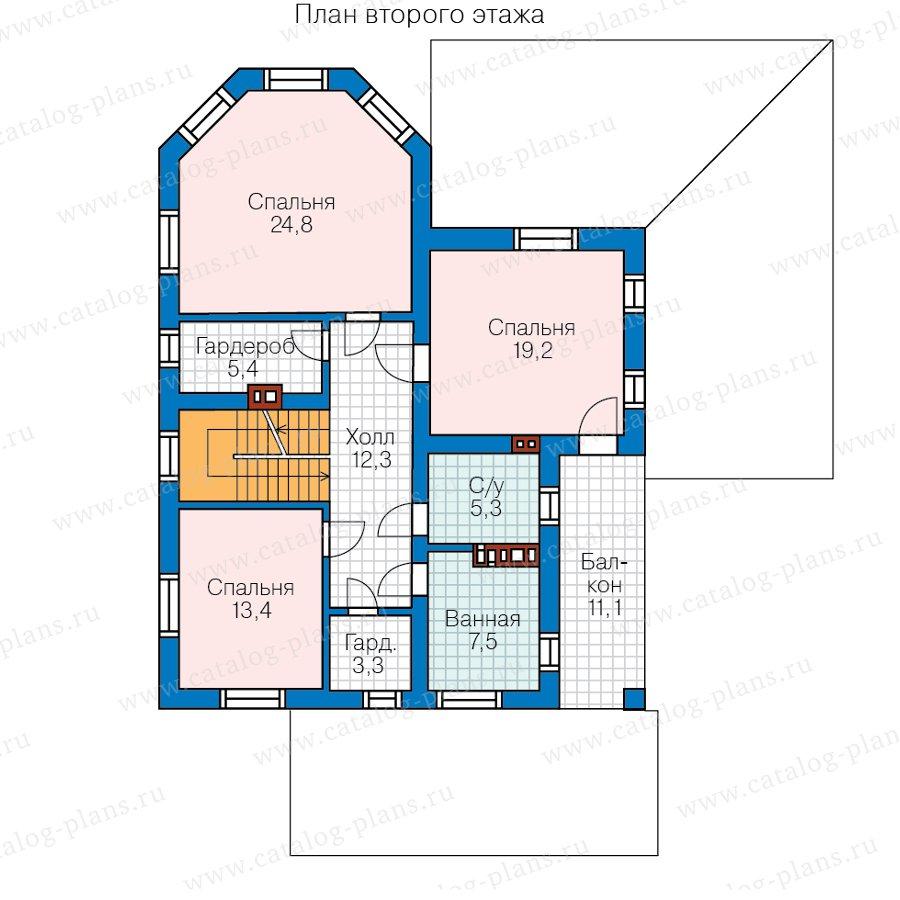 План 2-этажа проекта 40-13AG