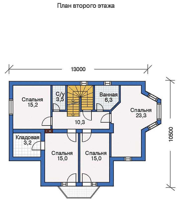 План 3-этажа проекта 50-62