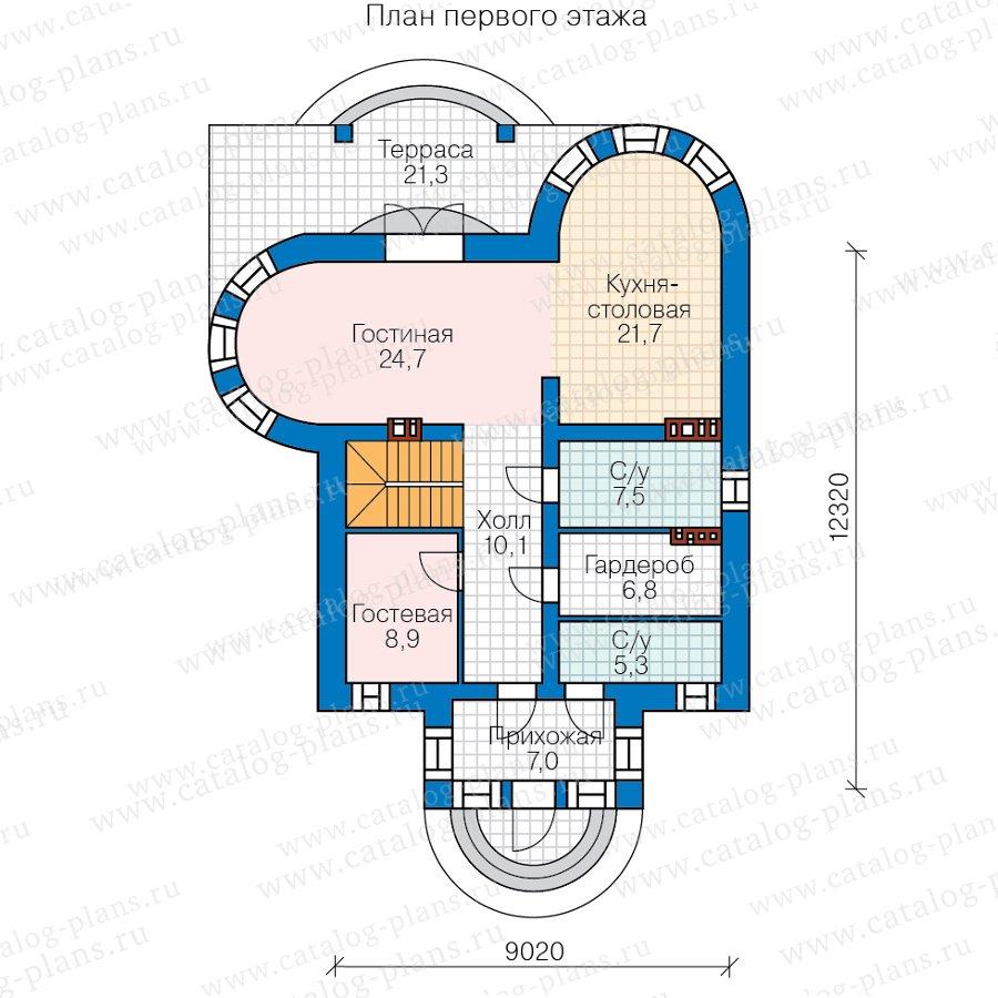 План 2-этажа проекта 40-70CL