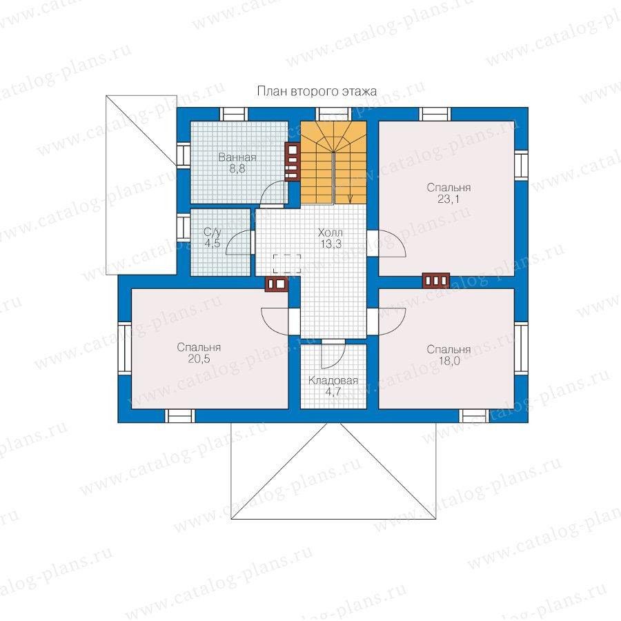 План 2-этажа проекта 57-03KL1