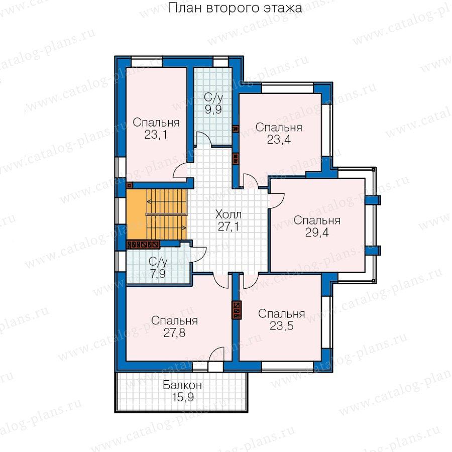 План 3-этажа проекта 40-30AG