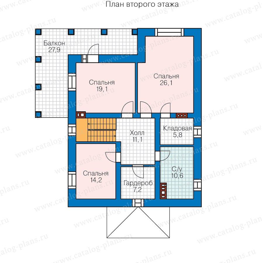 План 2-этажа проекта 57-62В
