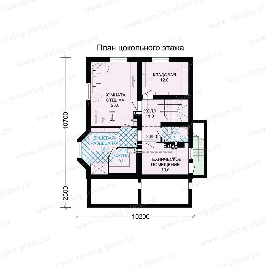 План 1-этажа проекта 13-71