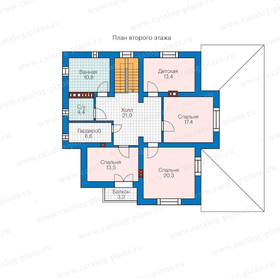 План 2-этажа проекта 57-49B