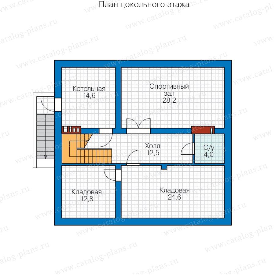 План 1-этажа проекта 57-30CK