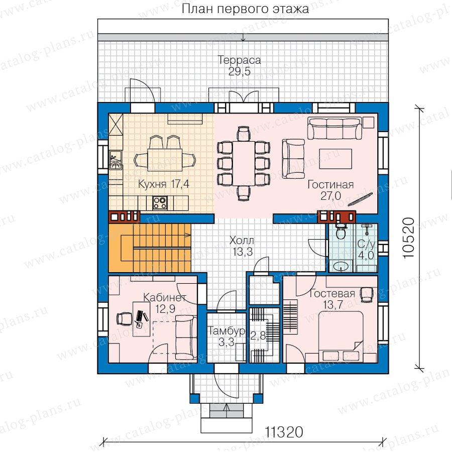 План 2-этажа проекта 57-30CK