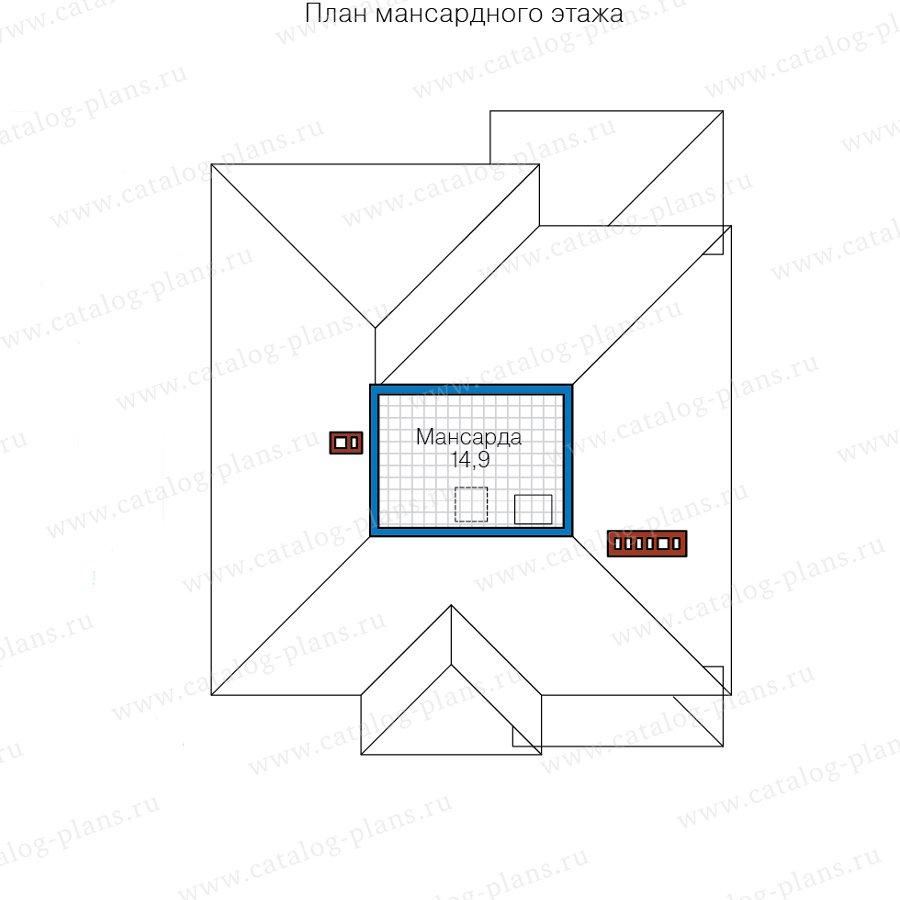 План 3-этажа проекта 57-20P