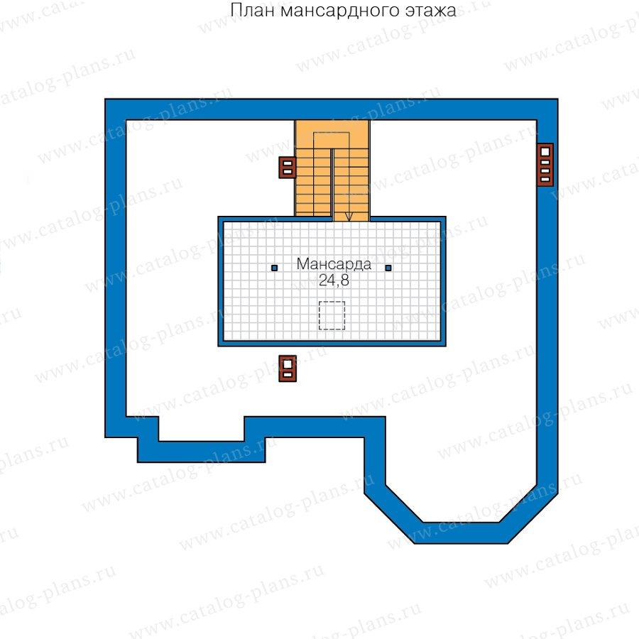 План 3-этажа проекта 40-11Z