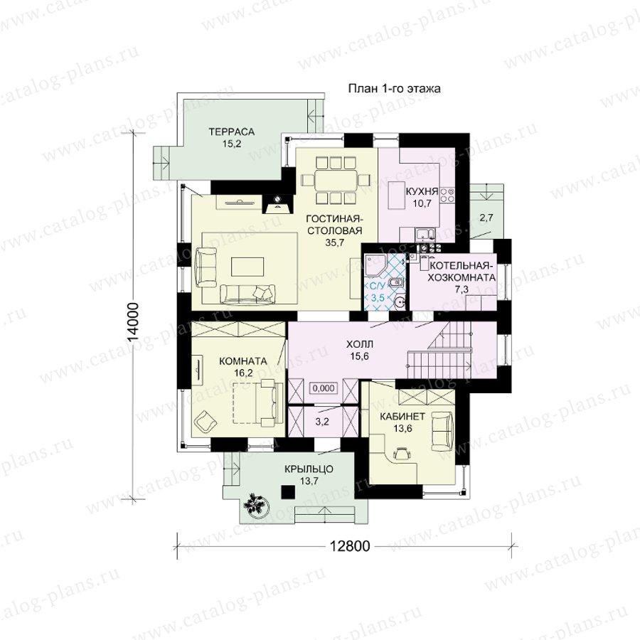 План 1-этажа проекта 61-11