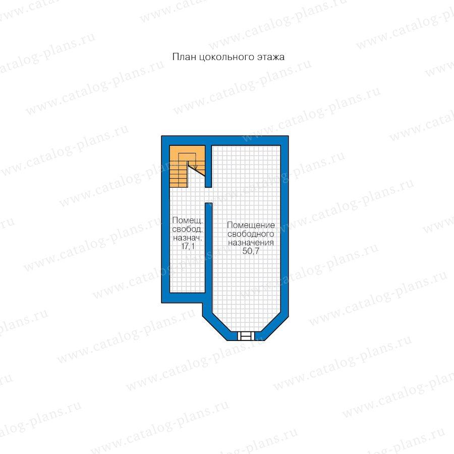 План 1-этажа проекта 48-29FL