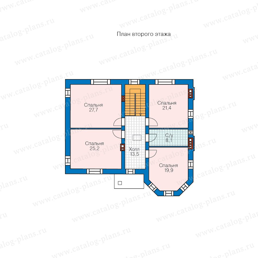 План 3-этажа проекта 48-29FL