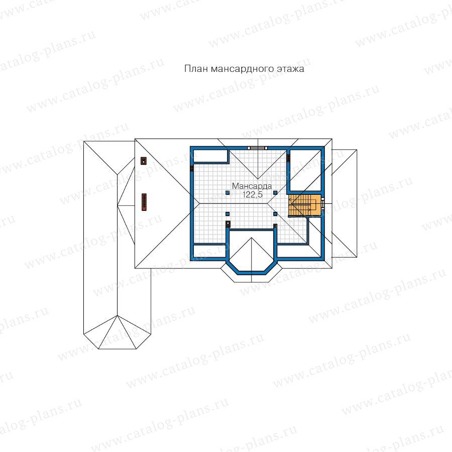 План 3-этажа проекта 62-10