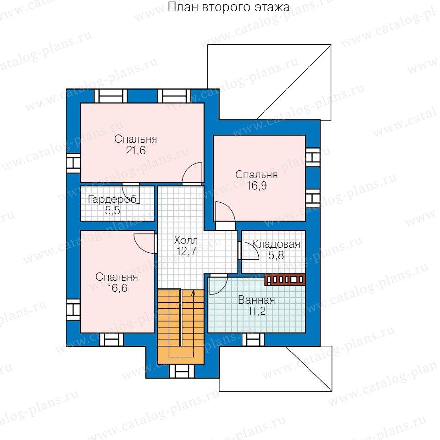 План 2-этажа проекта 57-20DL