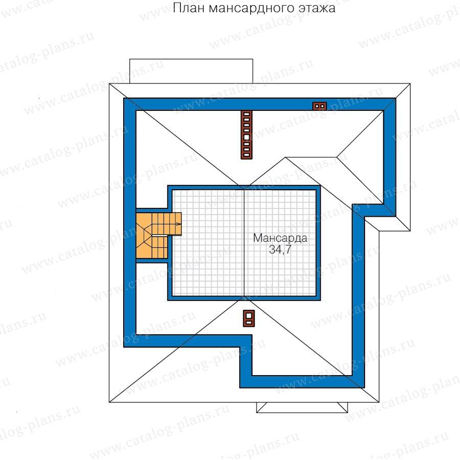 План 4-этажа проекта 57-39HL