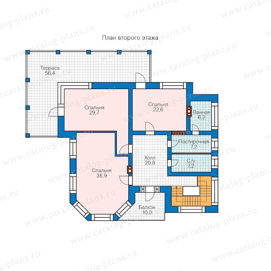 План 2-этажа проекта 48-21E