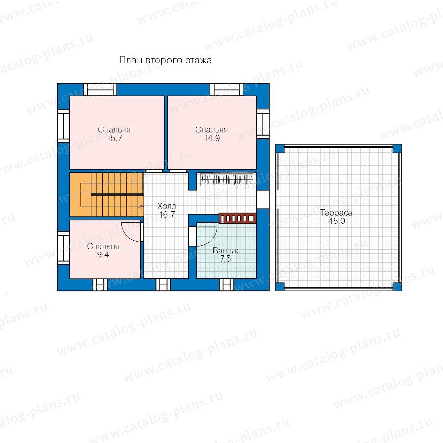 План 2-этажа проекта 57-05F