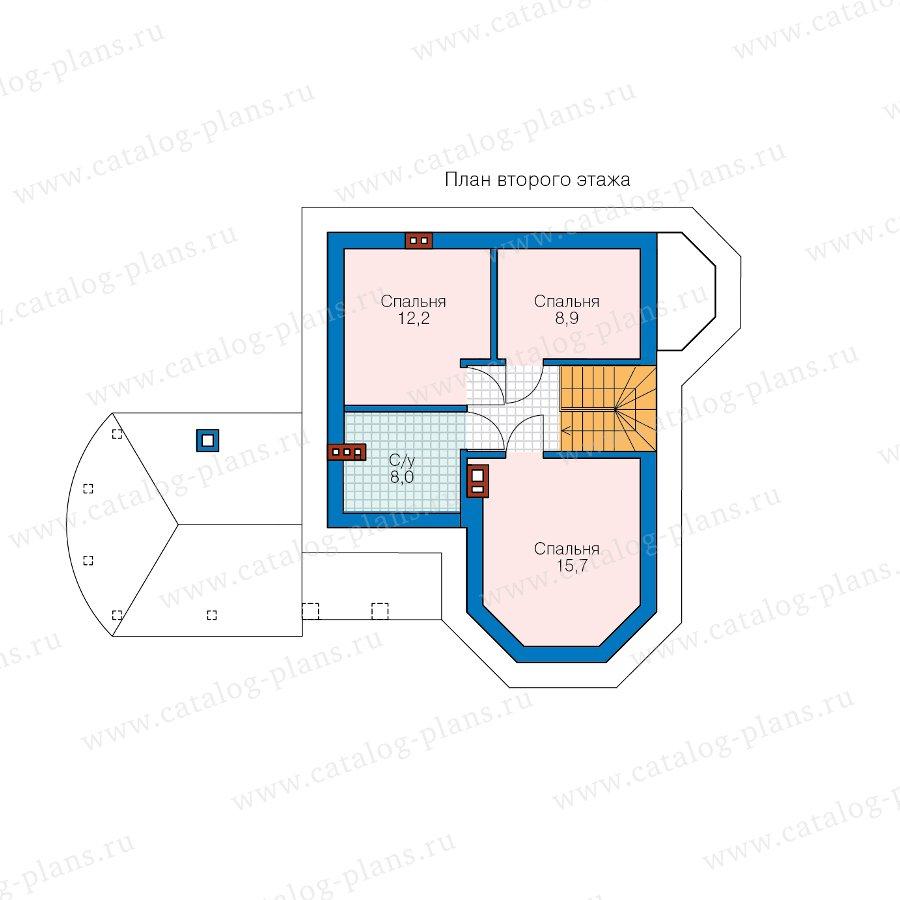 План 2-этажа проекта 62-14L