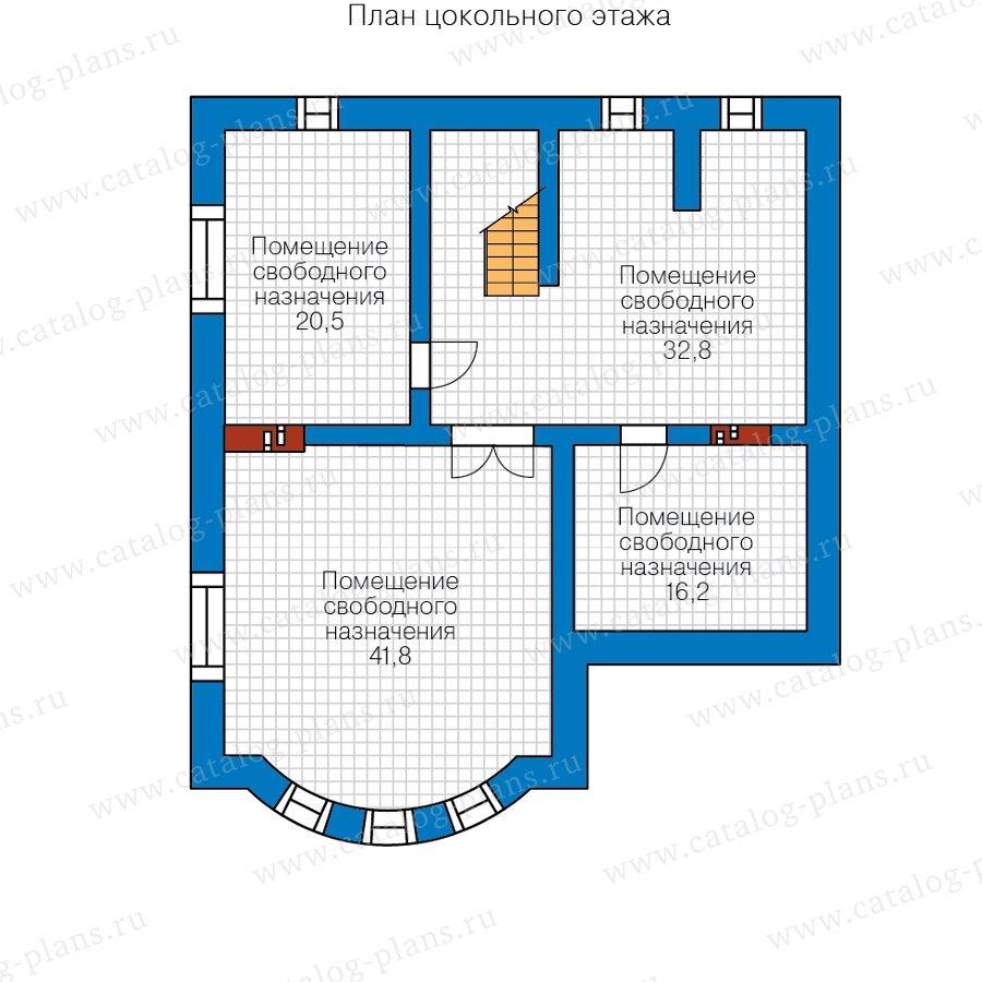 План 1-этажа проекта 57-60CKL