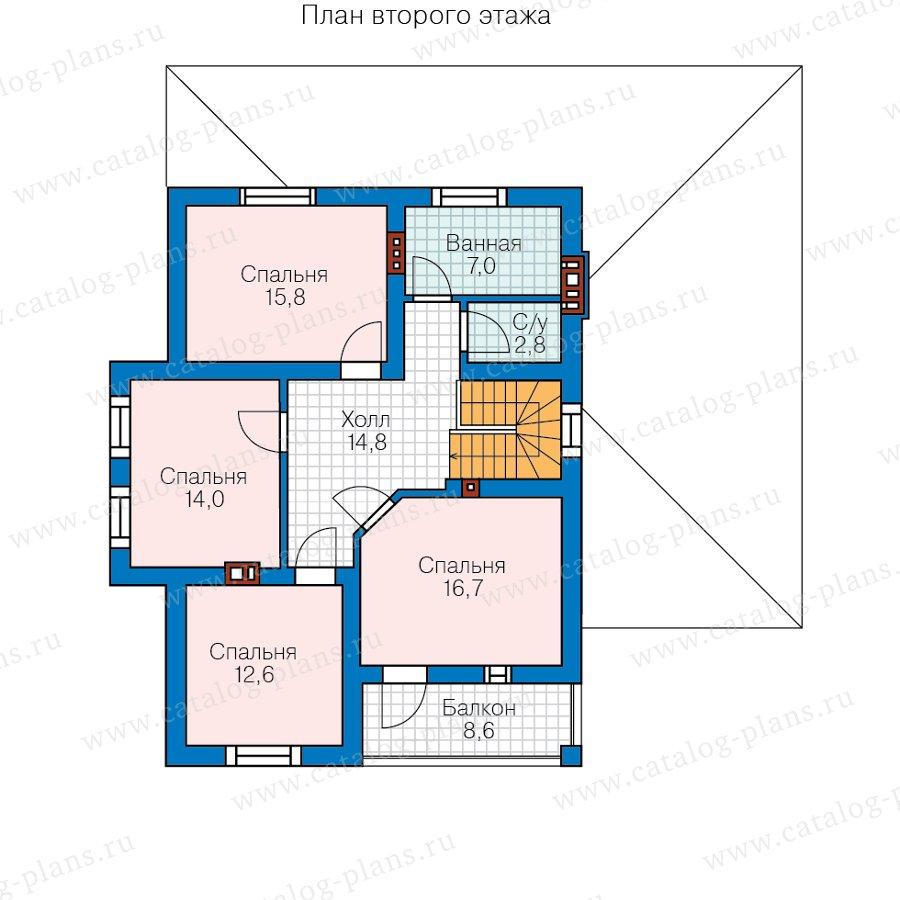 План 3-этажа проекта 57-00E