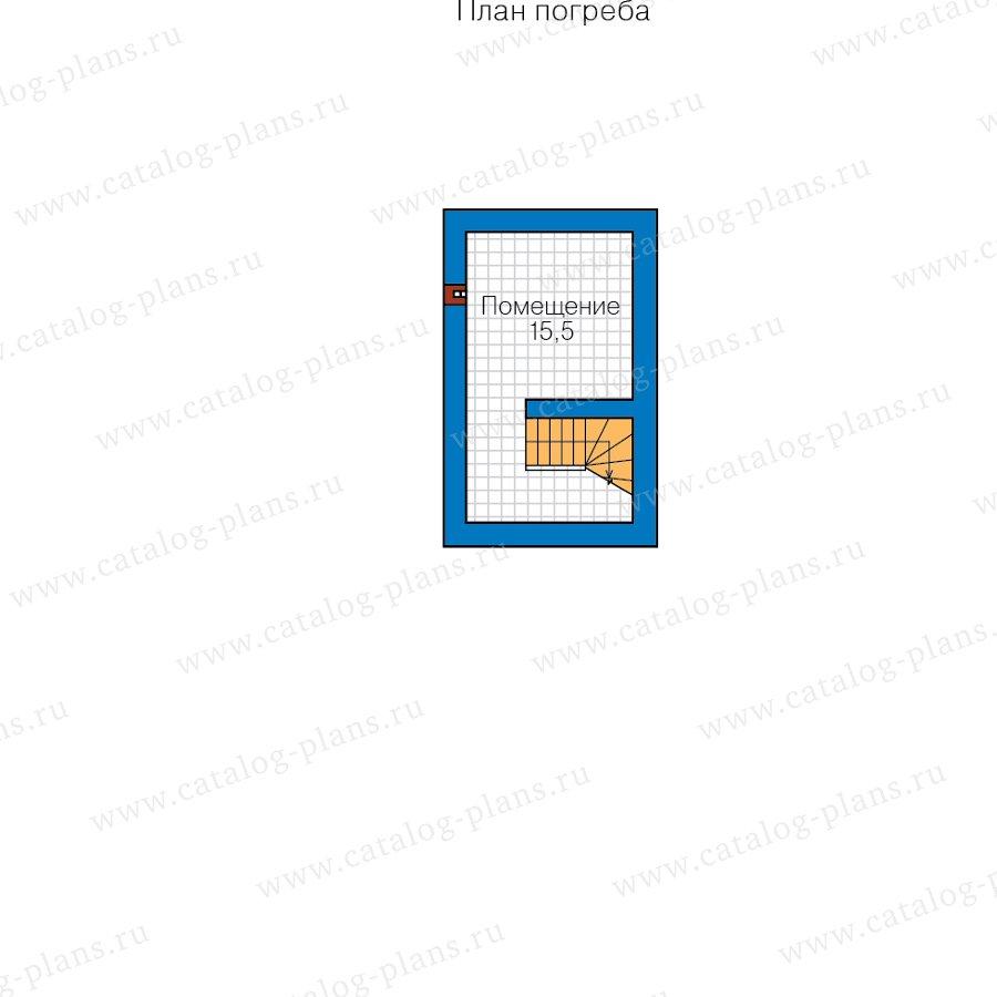 План 1-этажа проекта 57-00E
