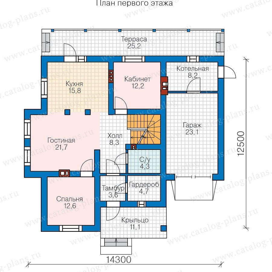 План 2-этажа проекта 57-00E