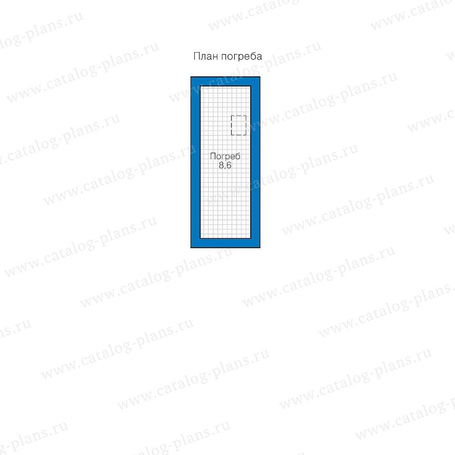 План 1-этажа проекта 40-12AK1L