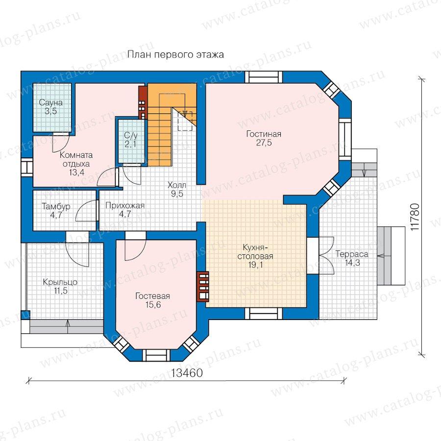 План 2-этажа проекта 40-12AK1L