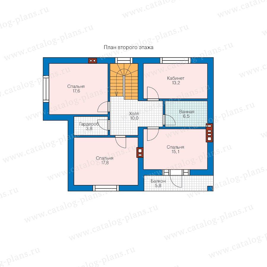 План 2-этажа проекта 58-47AL