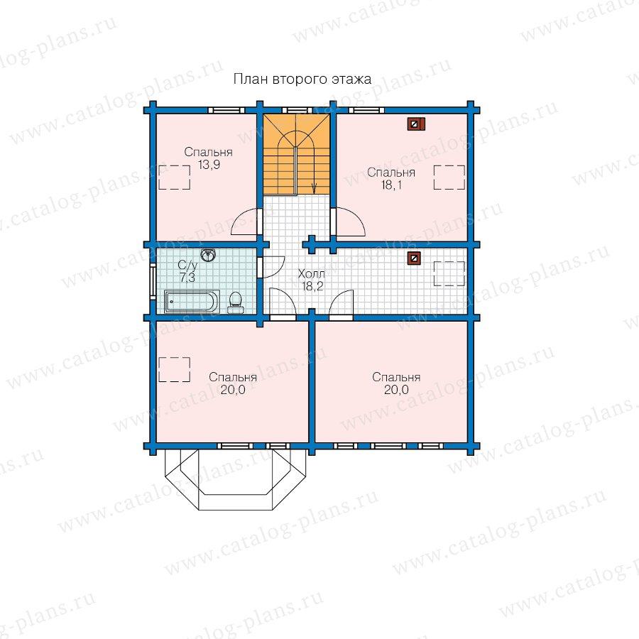 План 2-этажа проекта 11-03A