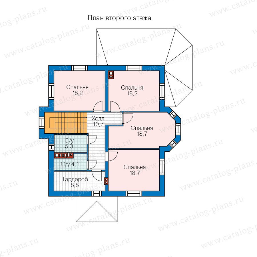 План 3-этажа проекта 62-12