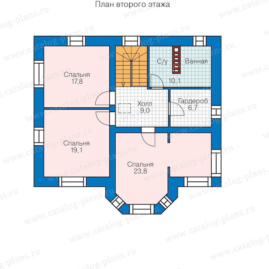 План 3-этажа проекта 40-12B