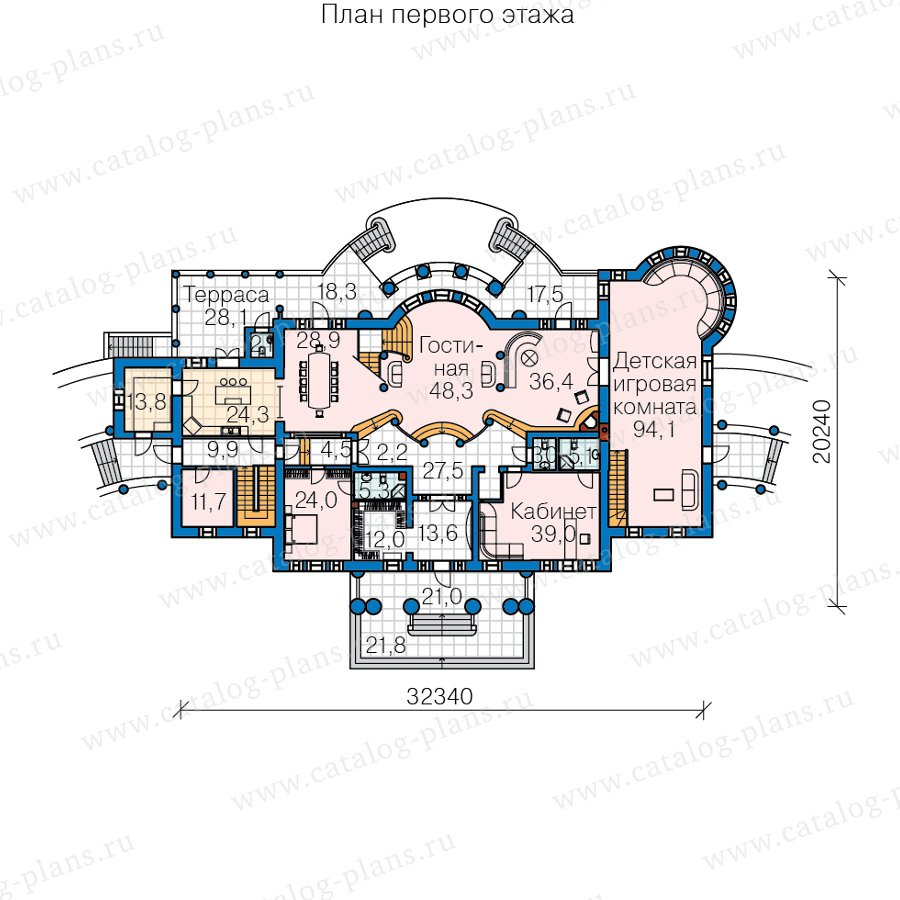 План 2-этажа проекта 47-77