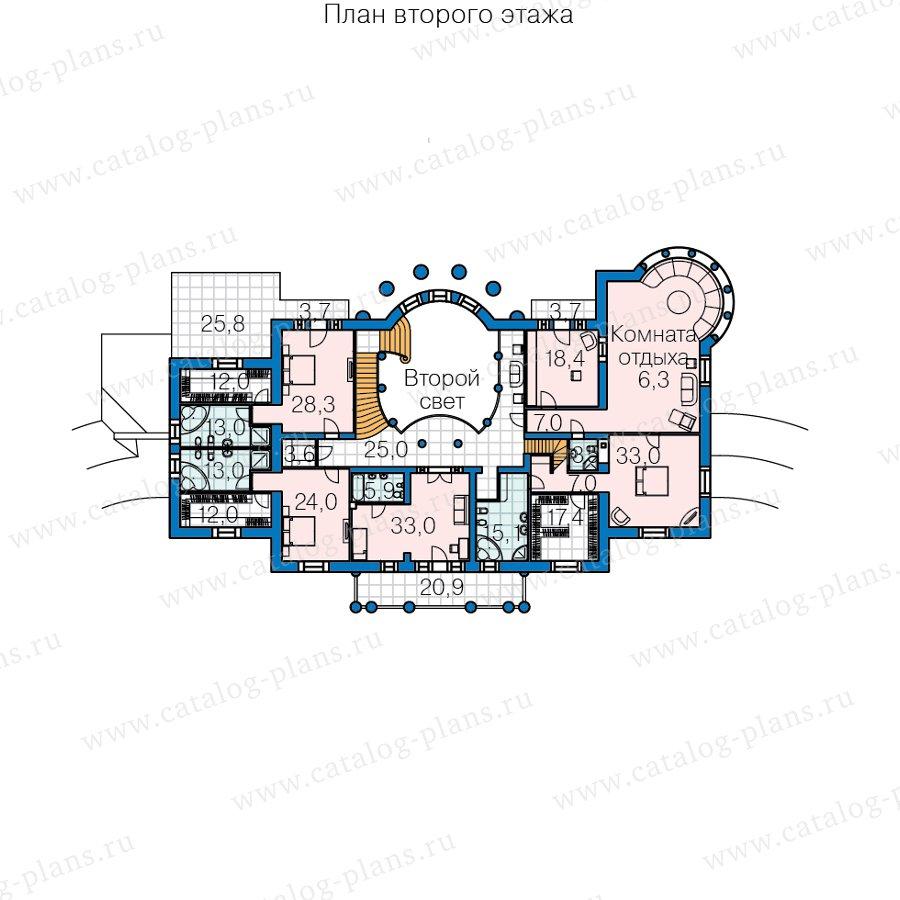 План 3-этажа проекта 47-77