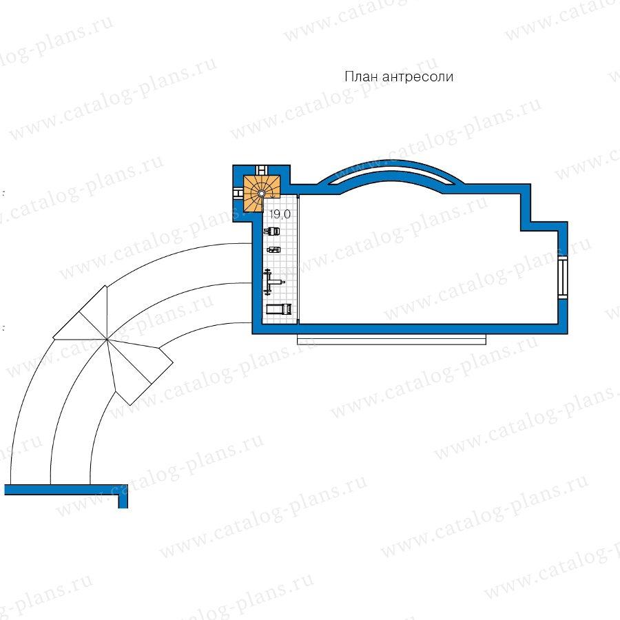 План 2-этажа проекта 47-87