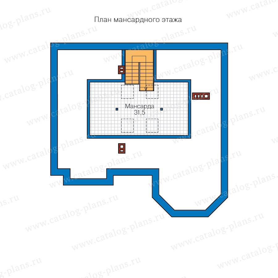 План 3-этажа проекта 40-11N