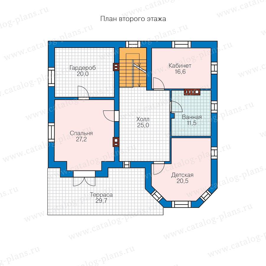 План 2-этажа проекта 40-11N