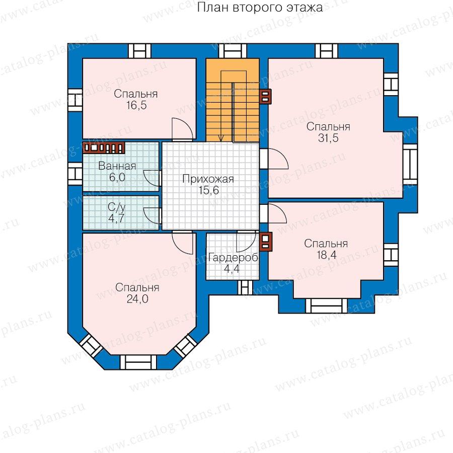 План 2-этажа проекта 40-11G2L