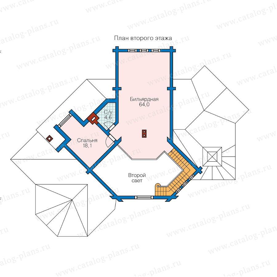 План 2-этажа проекта 13-82