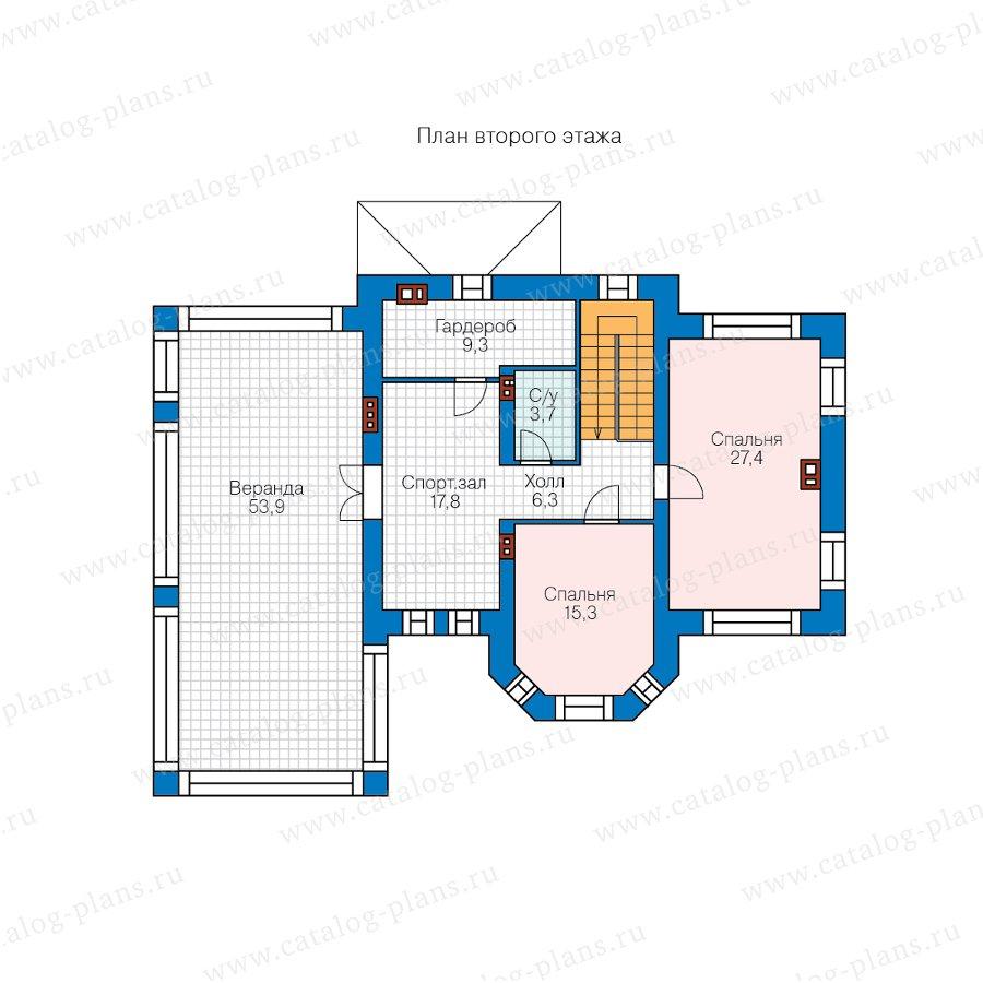 План 2-этажа проекта 57-25KHL
