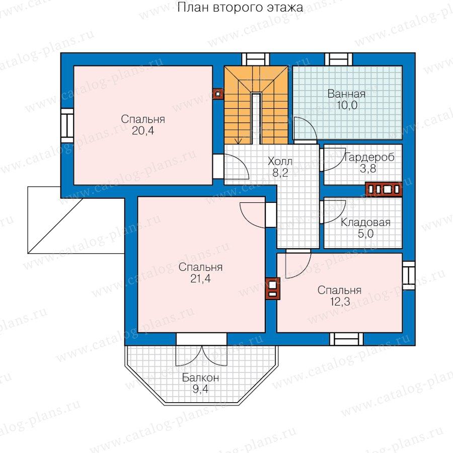 План 3-этажа проекта 40-05DG