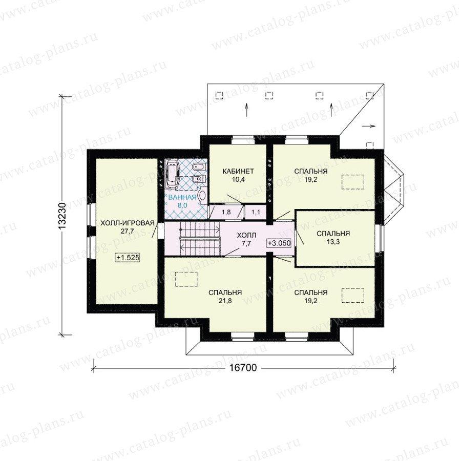 План 3-этажа проекта 54-82