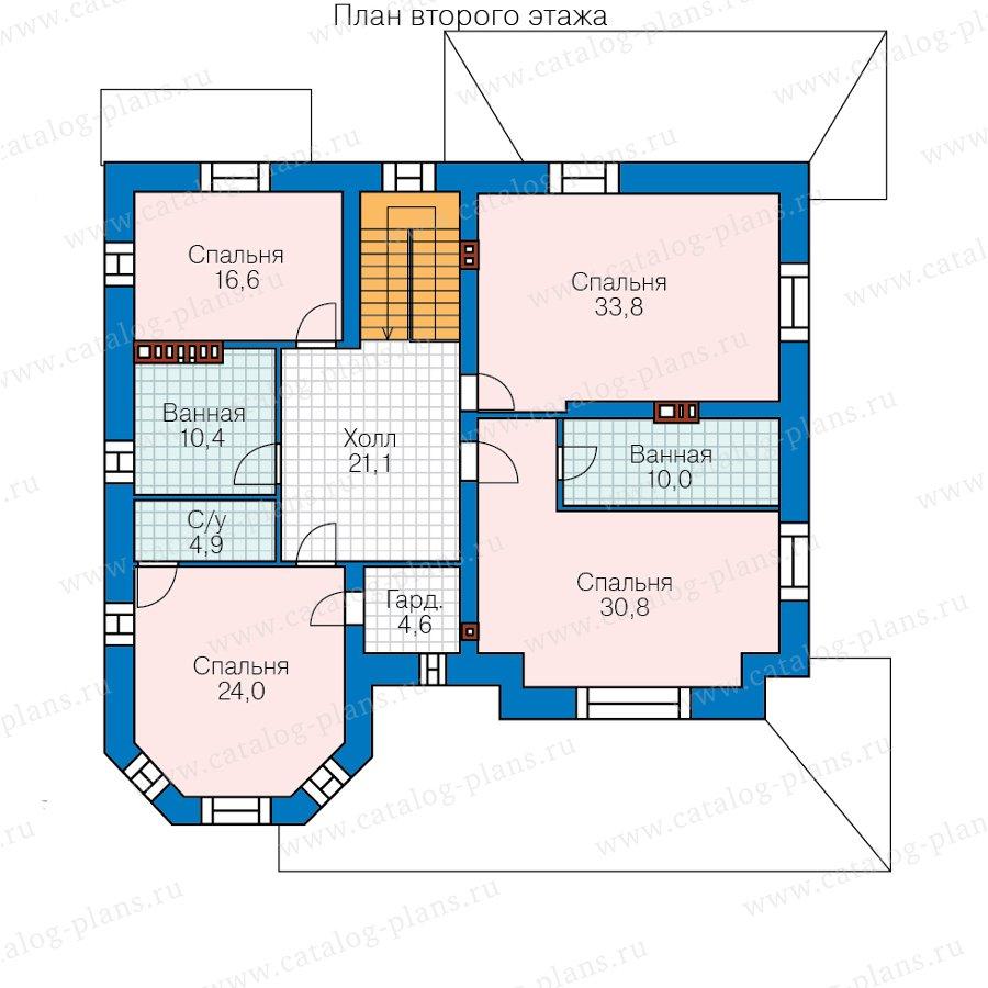 План 3-этажа проекта 40-53AL