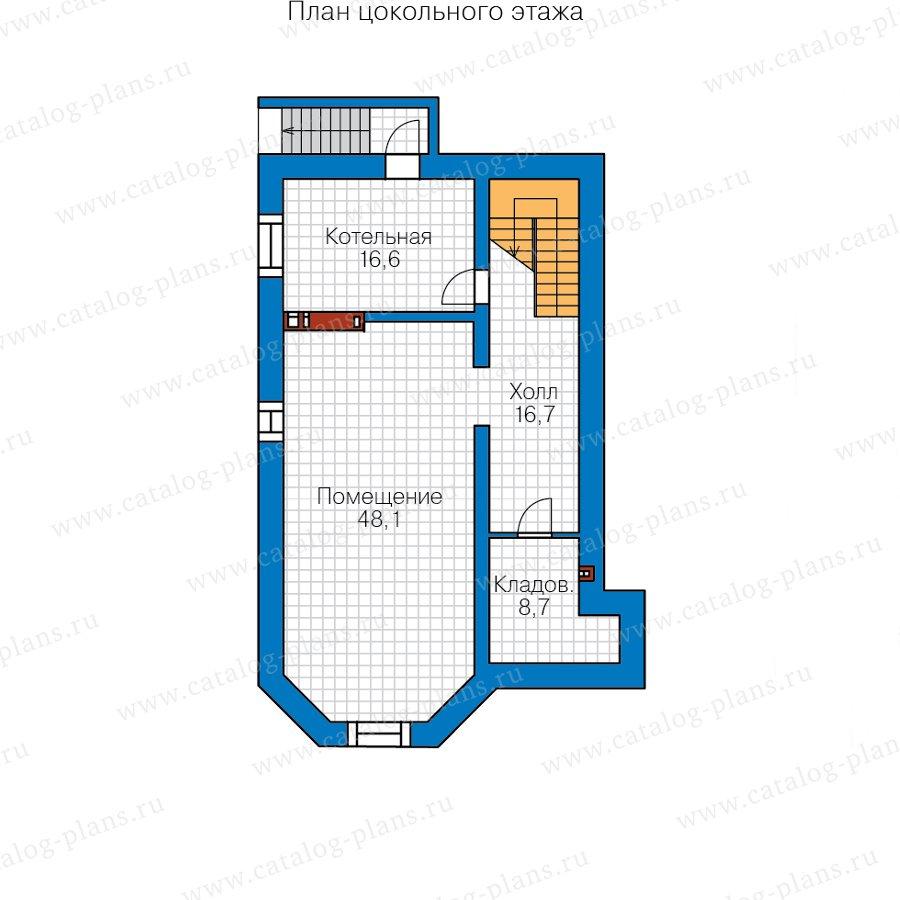 План 1-этажа проекта 40-53AL