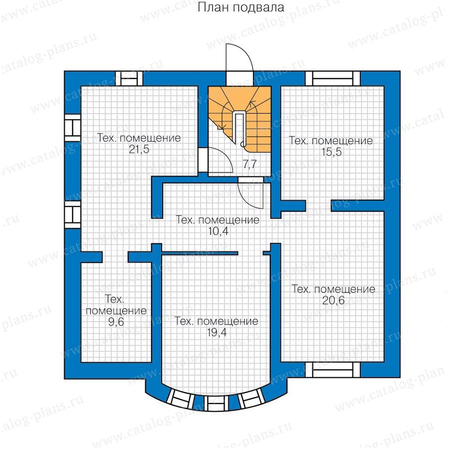 План 1-этажа проекта 47-84