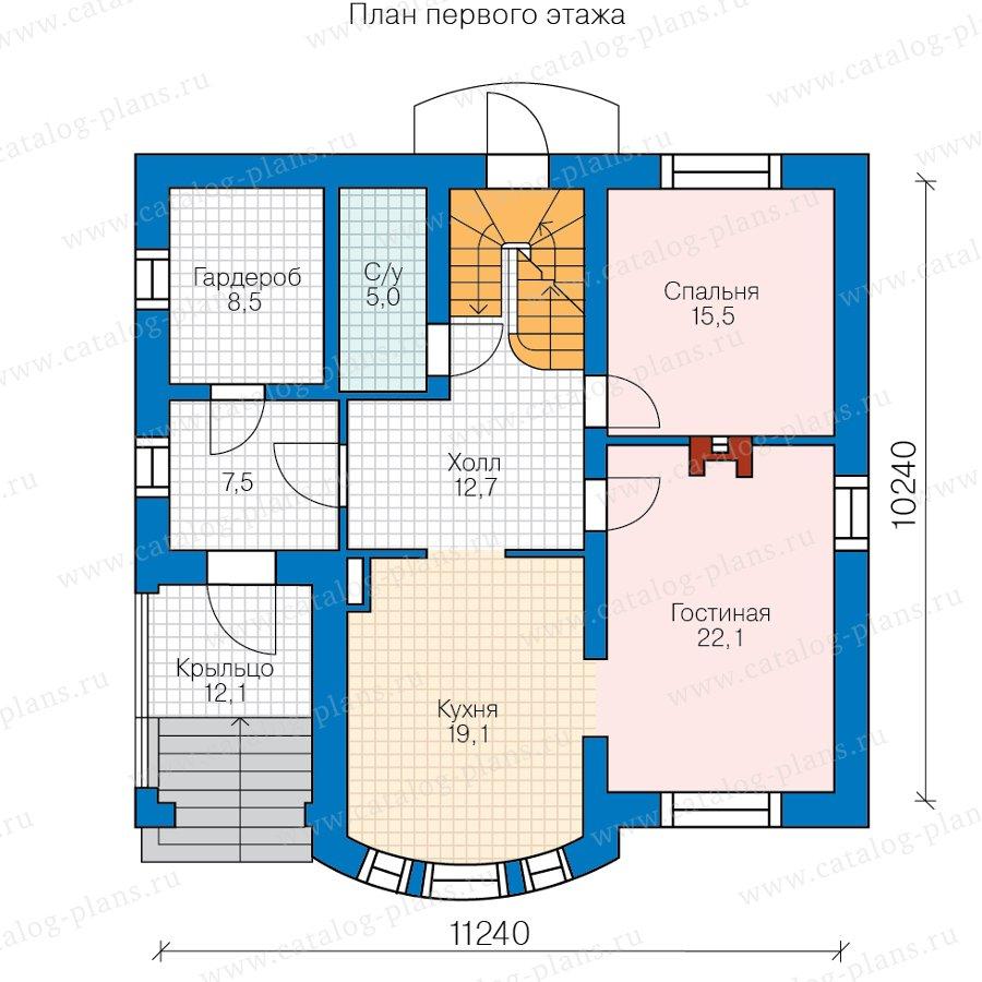План 2-этажа проекта 47-84