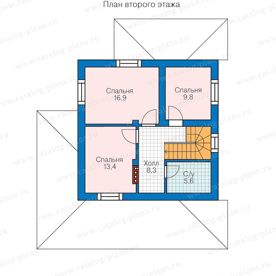 План 2-этажа проекта 57-51A