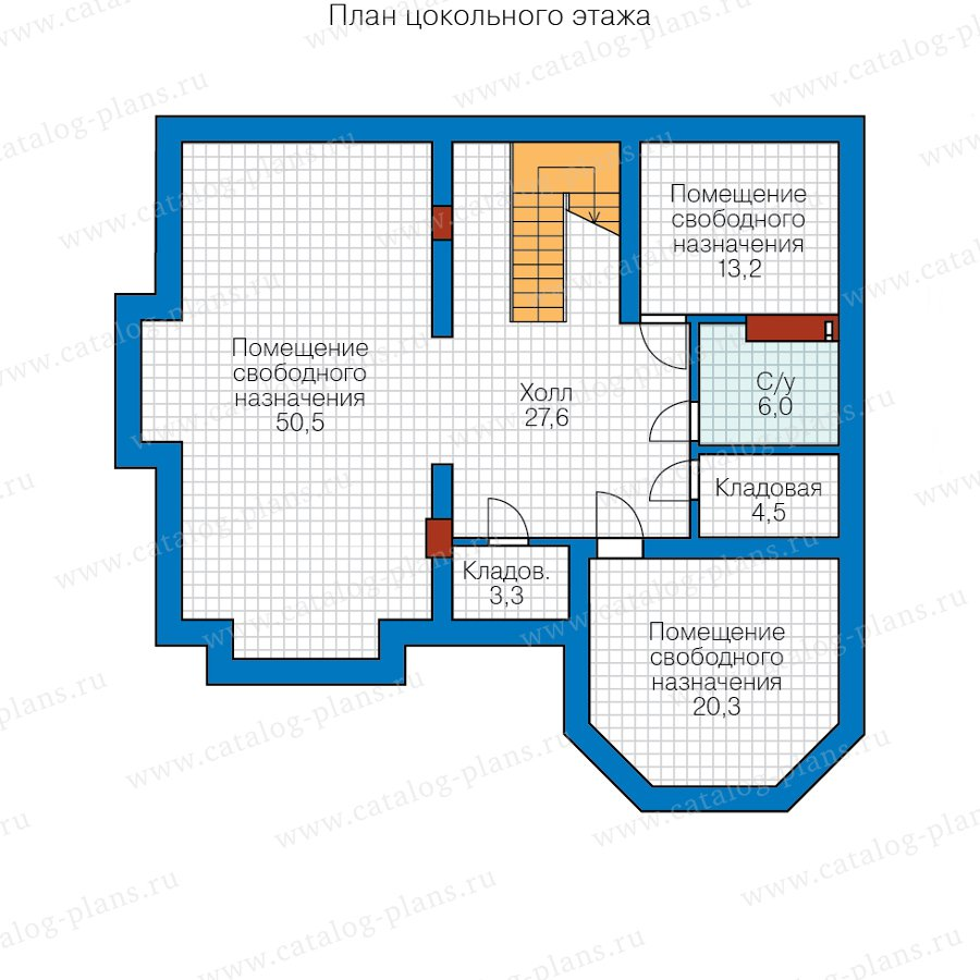 План 1-этажа проекта 40-11RL