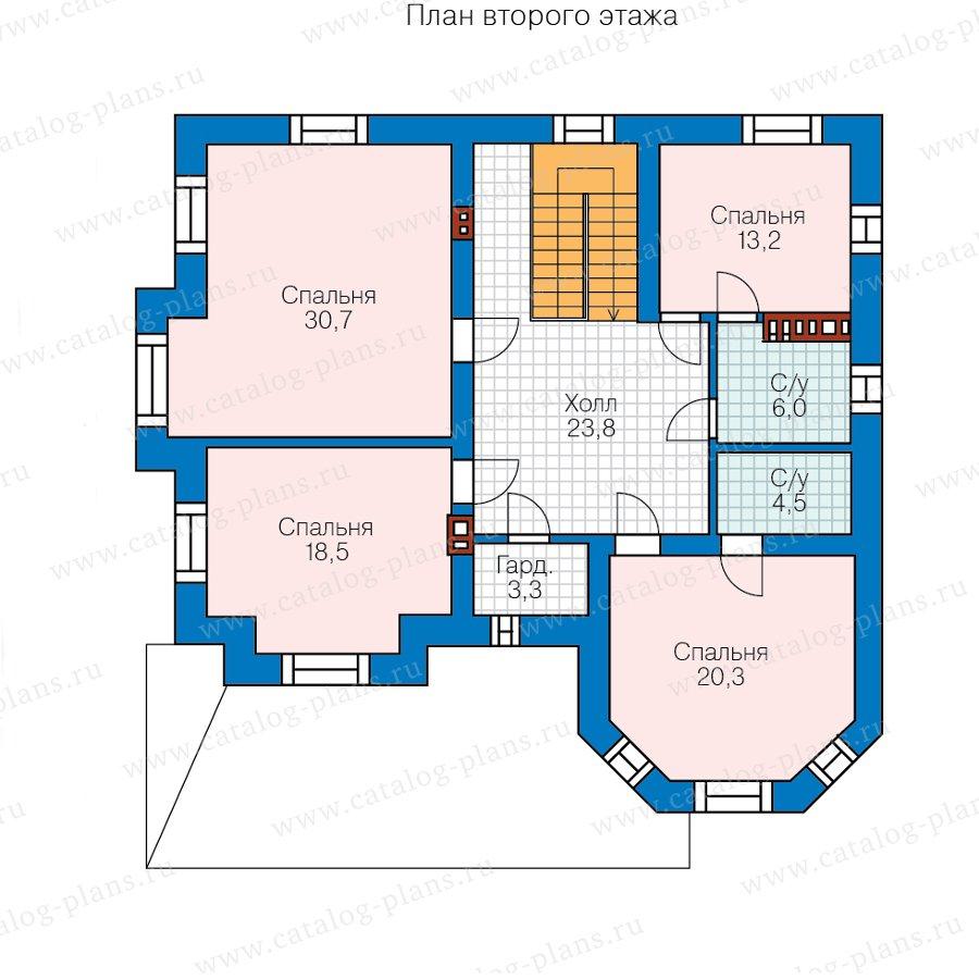 План 3-этажа проекта 40-11RL